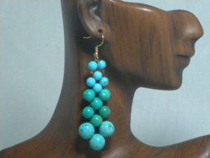 Gorgeous blue and Tibet turquoise.