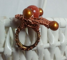 The Copper Platter Ring.