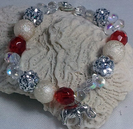 If you want one of these bracelets, email me at junebugjewelrydesigns@gmail.com.