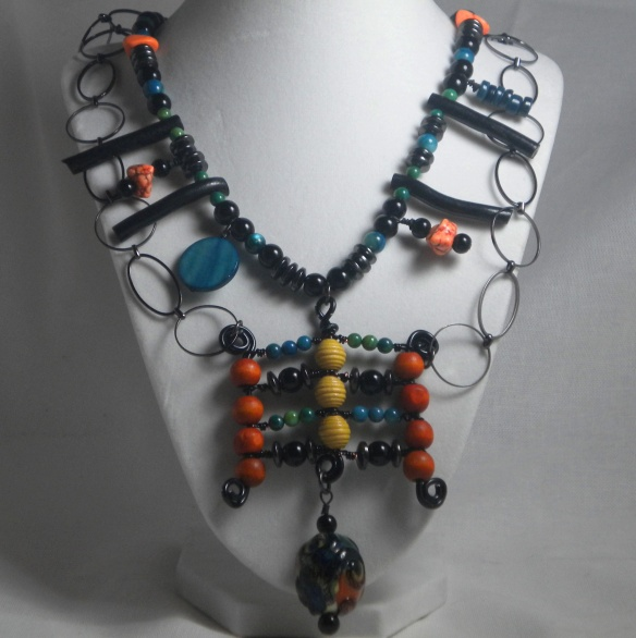 On Sale! The Warrior Queen Necklace by Junebug Jewelry Designs
