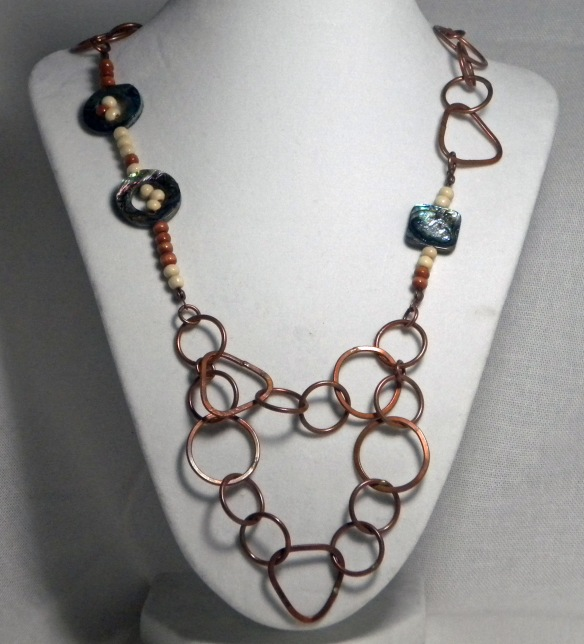 The Layered Chain Necklace by Junebug Jewelry Designs