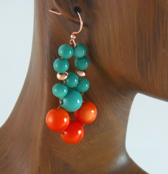 Color Splash Everyday Earrings from Junebug Jewelry Designs on Etsy.